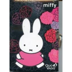 Journal intime Miffy noir