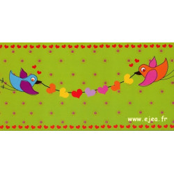 Carte Hil Claesen Oiseaux...