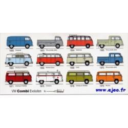 Carte VW Combi Evolution