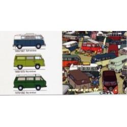 Carte VW Combi Bay Windows