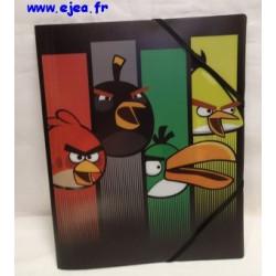 Chemise Angry Birds PVC noire