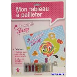 Sweet Shop Mon tableau à...