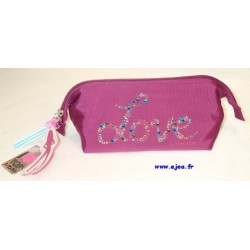 Top Model Trousse Love violet