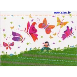 Carte postale Hanra Taupe...