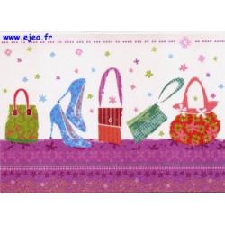 Carte postale Hanra Shopping