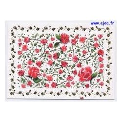 Carte postale Hanra Roses