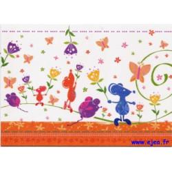 Carte postale Hanra Souris