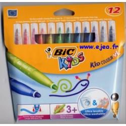 Bic Kids 12 feutres Kid...