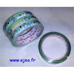 Masking tape Totoro vert